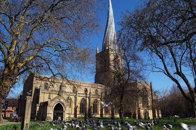 Sunny spells are forecast along with a 'mini heatwave' over the next few days in Chesterfield.