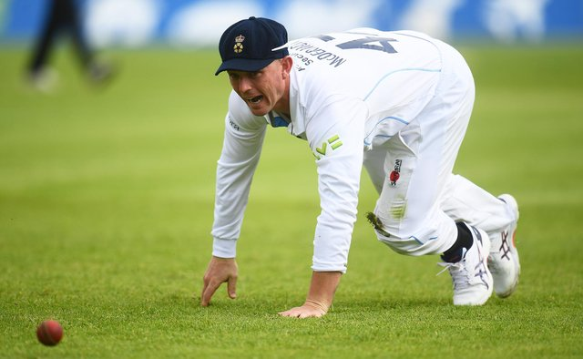 Ben McDermott will miss the rest of Derbyshire's season following his call-up by Australia. (Photo by Harry Trump/Getty Images)