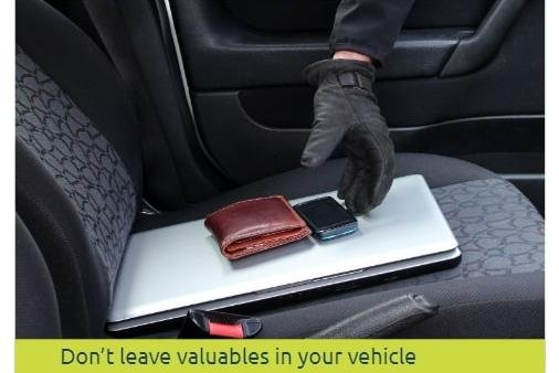 Police in Dronfield are urging motorists to leave valuables out of sight following a spate of thefts from cars in North East Derbyshire.