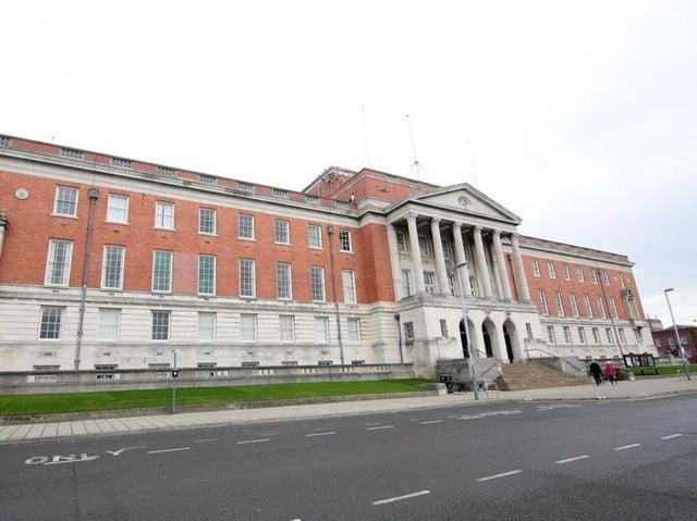The inquest took place at Chesterfield Coroner's Court, which is located within the town hall.