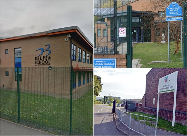 Figures have revealed the are the most oversubscribed secondary schools in the Derbyshire Times area for the 2021/22 academic year