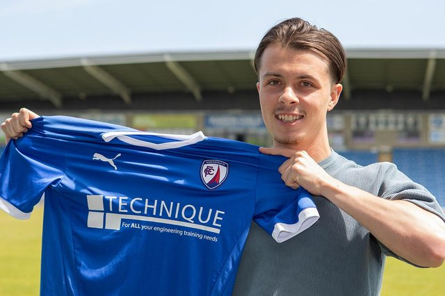 Jack Clarke is one of five new signings Chesterfield have made so far. Picture: Tina Jenner.