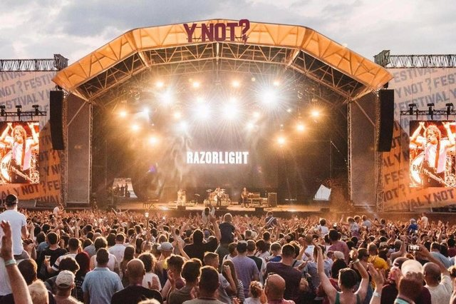 Y Not Festival has been called off for a second year.