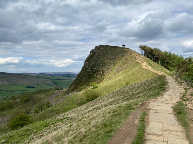 Great Ridge restoration.