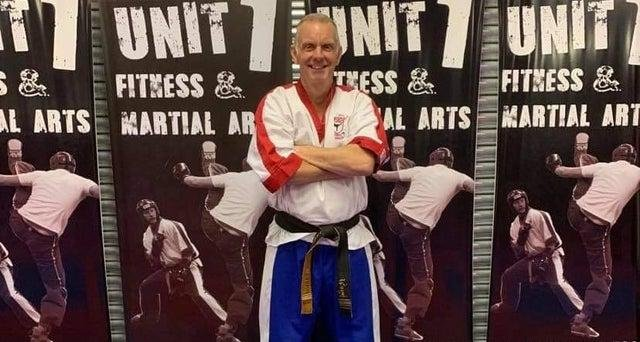 Dave Cartawick, who owns Unit 1 Fitness and Martial Arts in Chesterfield.
