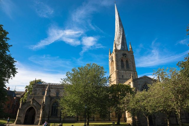 Chesterfield and its famous Crooked Spire has homes for sale to suit all budgets.