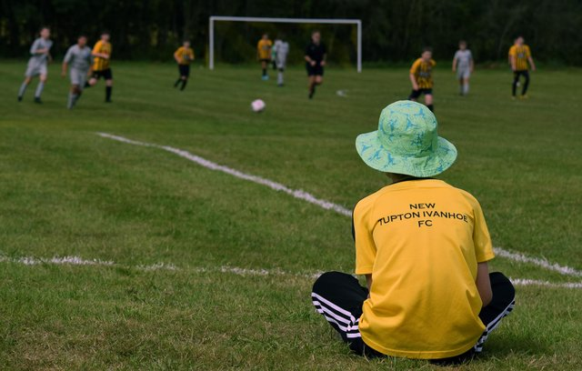 The New Tupton Ivanhoe FC Summer Festival of Football attracts 200 teams from across the Midlands and the North of England.
