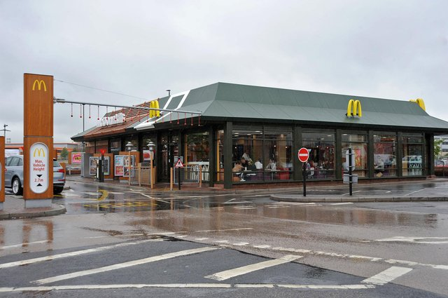 McDonald's has announced all customers in Chesterfield will be welcome back for eat-in dining from Monday