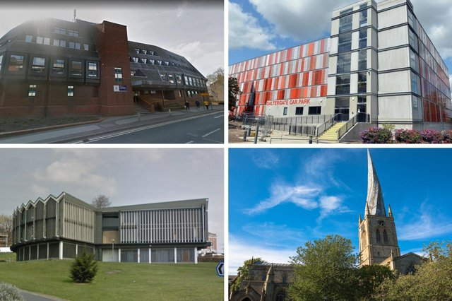 Derbyshire Times readers have had their say on the Chesterfield buildings they would like to see demolished.