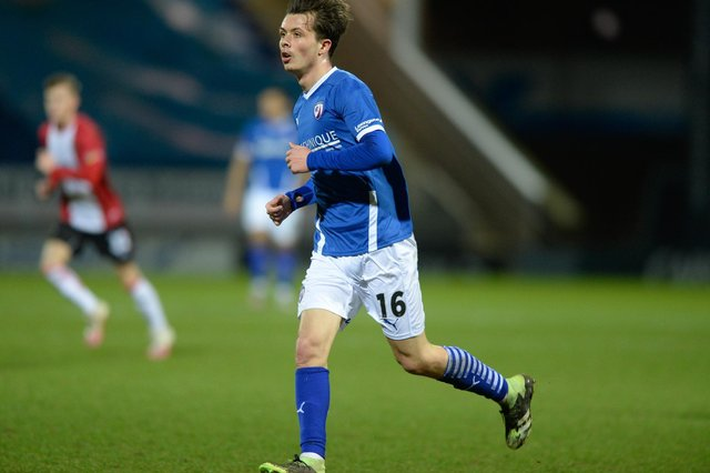 Jack Clarke is loan from Aston Villa.