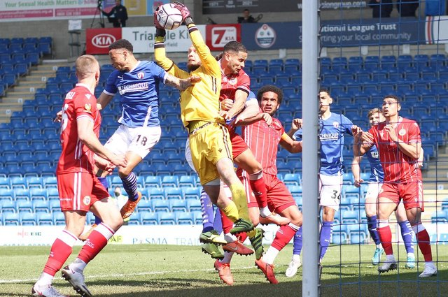 Bromley ran out 2-1 winners at the Technique Stadium.