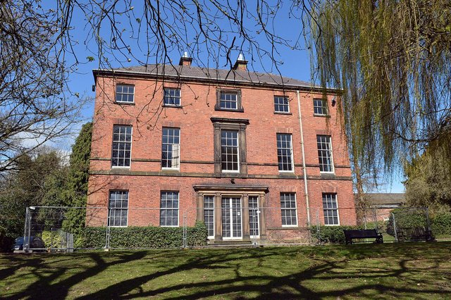 The Grade II*-listed Tapton House in Chesterfield.