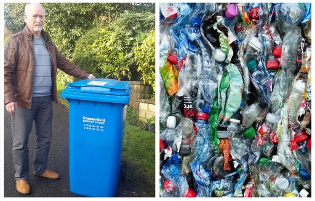 Liberal Democrat Councillor Tom Snowdon is concerned about Chesterfield's recycling rates.