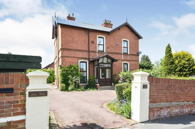 """The property is described as a """"well-presented, detached, family home""""."""