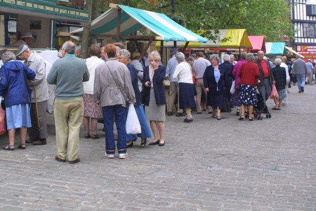 A reader asks that Chesterfield market be kept as it is.