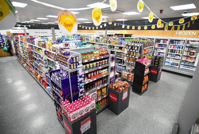 The new-look Co-op in Inkersall Green Road