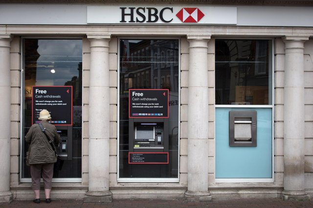HSBC. (Photo by Matt Cardy/Getty Images)