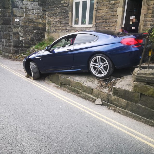 The image tweeted out by Derbyshire Roads Policing Unit