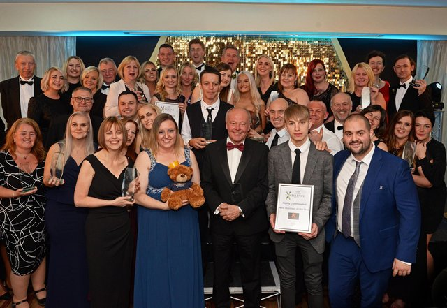 Winners of the 2019 Business Excellence Awards.