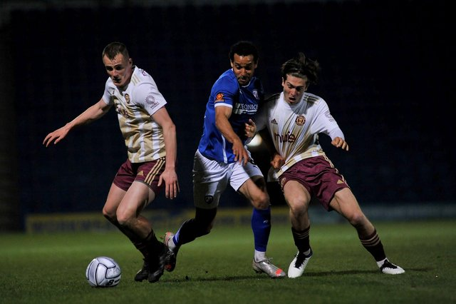 Halifax claimed all three points against Chesterfield on Tuesday night.