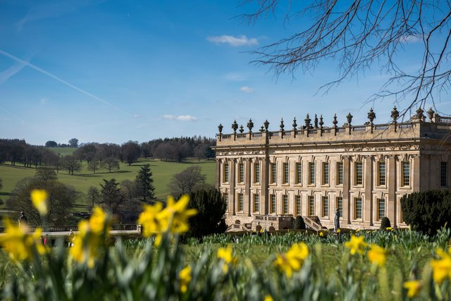 Chatsworth garden has reopened to the public