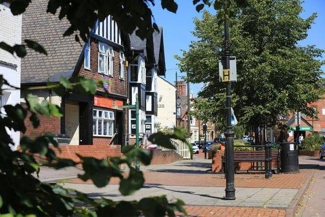 Staveley town centre will benefit from Government funding.