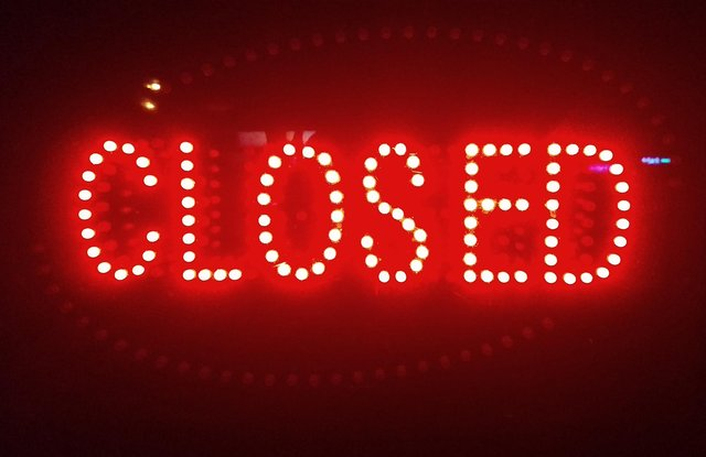 The entrepreneur has been forced to close his business during lockdown