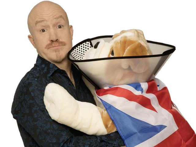 Andy Parsons will tour Healing The Nation to Derby and Buxton. Photo by Andy Hollingworth.
