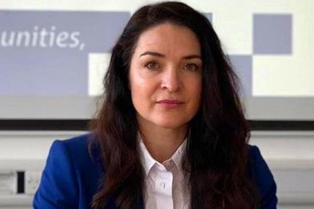 Angelique Foster,Police and Crime Commissioner for Derbyshire.
