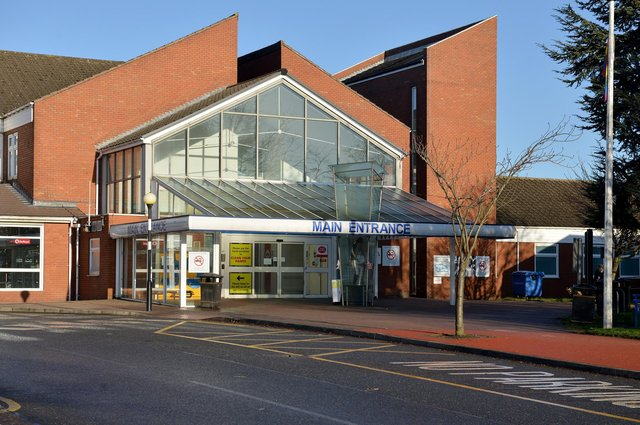 Chesterfield Royal Hospital's emergency department remains under pressure.