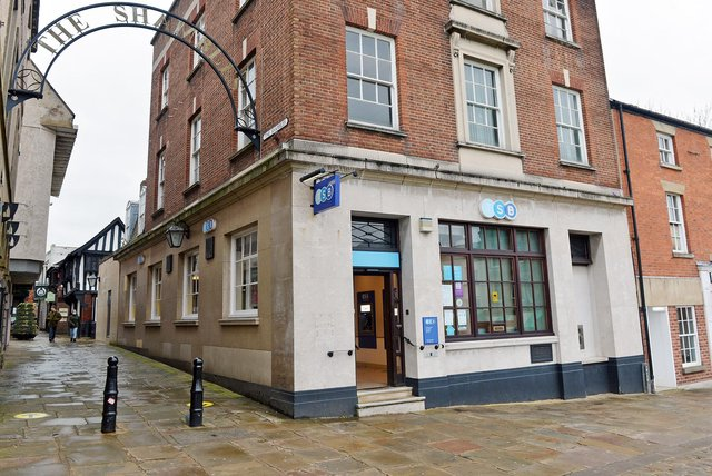 TSB on Chesterfield Market Place is closing in April, but council chiefs hope the building will not be vacant for long.