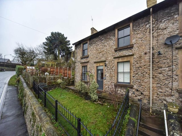 All Saints View is a double-fronted, four-bedroom, stone-built property with delightful views in Bakewell.