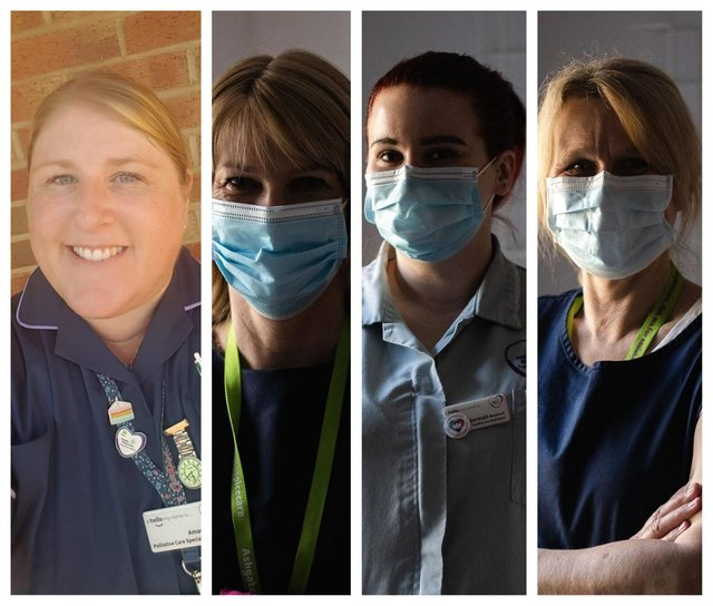 Ashgate Hospicecare's frontline workers are continuing to care after a year of lockdown