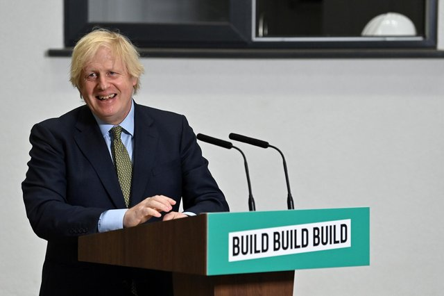 Boris Johnson has announced a major new investment plan for the East Midlands. Photo: Paul Ellis/WPA Pool/Getty Images