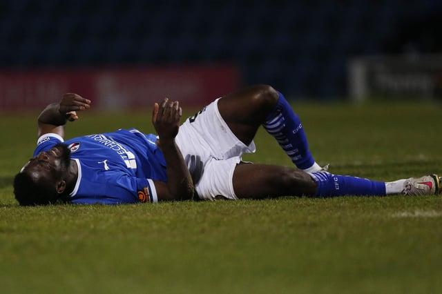 Akwasi Asante ruptured his ACL against Boreham Wood in April.
