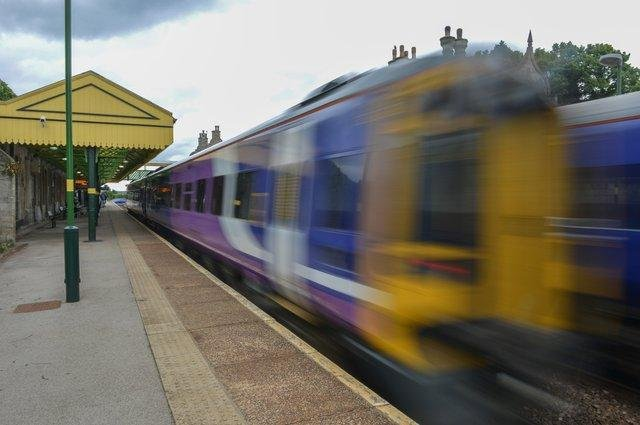 Trains are unable to run between Worksop and Mansfield.