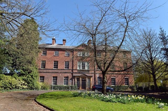 Tapton house Brimington Road Chesterfield.