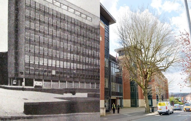 Chesterfield then and now