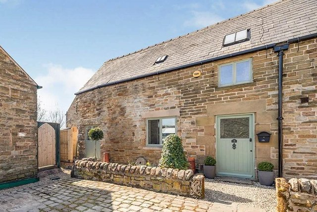 The property is a converted dairy barn, dating back to 1837 and converted 16 years ago.