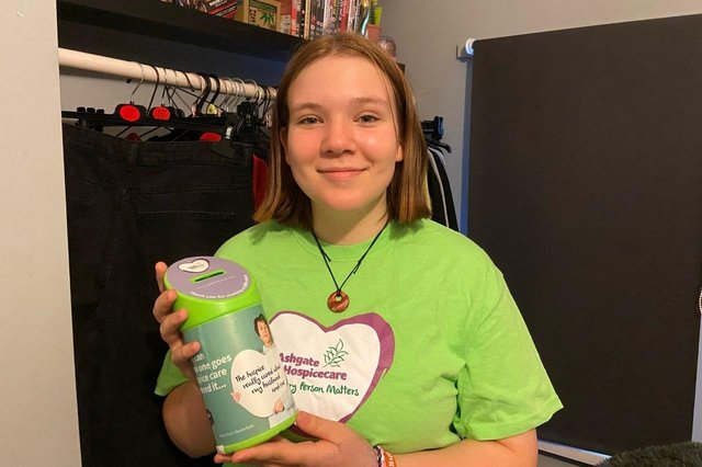 Lyla will abseil in the Peak District for Ashgate Hospicecare.