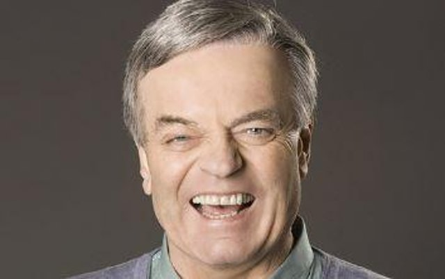 Tony Blackburn with host Sounds of the 60s LIVE at Sheffield City Hall.
