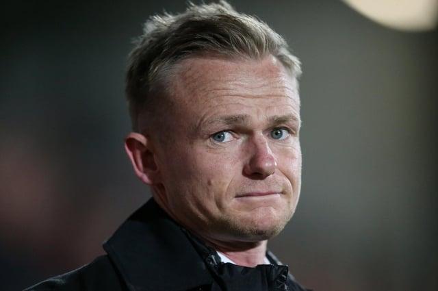 Wrexham manager Dean Keates.
