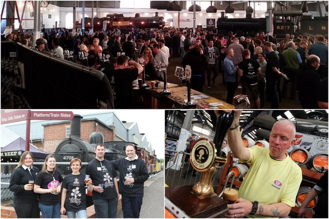 Rail Ale  has been pulling the crowds to Barrow Hill Roundhouse for two decades.