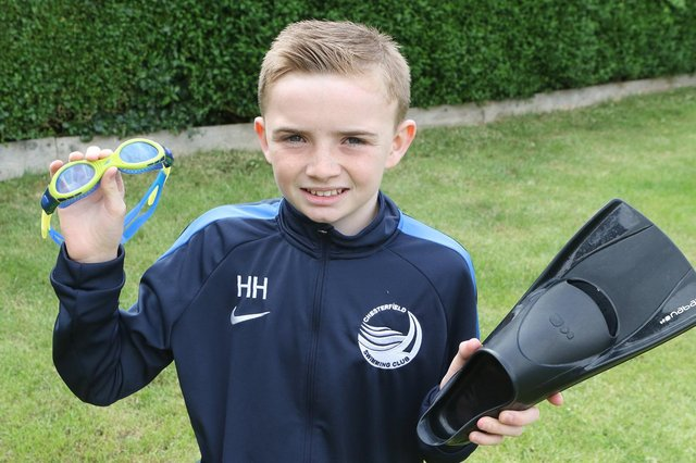 Hayden Hudson, 11, will take the plunge next month as he embarks on Diabetes UK's Swim22 challenge
