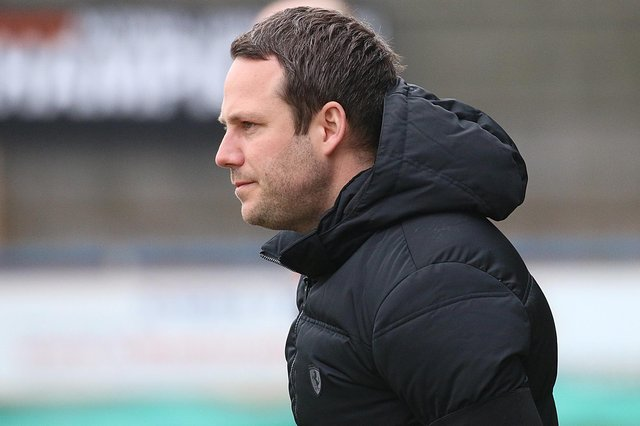 Spireites manager James Rowe. Picture: Alan Palmer.