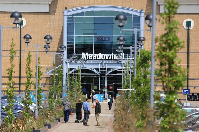 Shops at Meadowhall have been gradually reopening. Picture: Chris Etchells.
