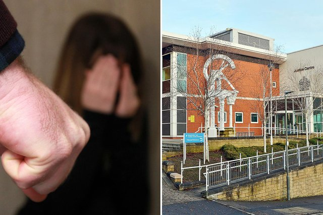 """Chesterfield dad James Hague """"petrified"""" his five-year-old daughter during a violent domestic row"""
