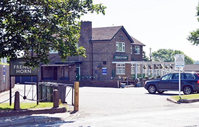 A pensioner has been left angered after receiving a parking fine while going for a pint at The French Horn pub in Codnor