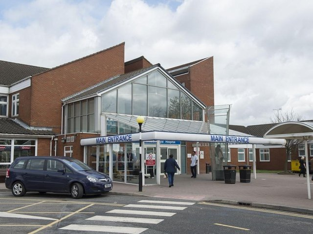 Chesterfield Royal Hospital has revealed the number of patients who have recovered from Covid-19 and been discharged.
