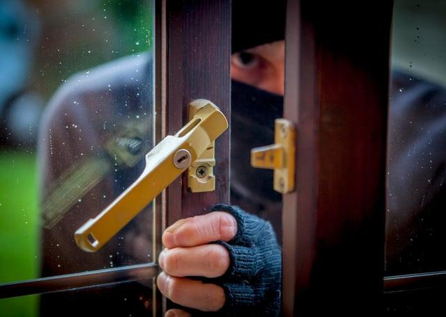 Burglaries since January in Chesterfield